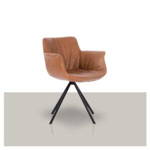Comfortabele design draaistoel met armleuning Van Tafel