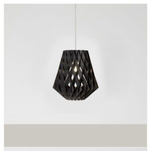 Transparante-moderne-hanglamp-MDF-Pilke-36-Showroom Finland-zwart