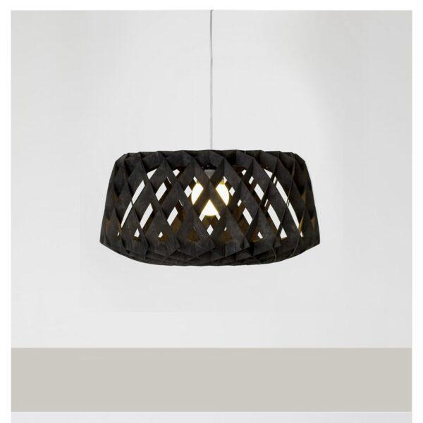 Transparante-moderne-hanglamp-MDF-Pilke-60-Showroom Finland-zwart