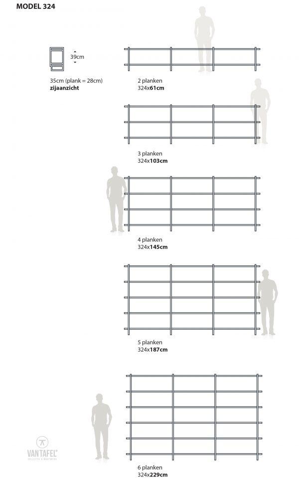 Wandkast variaties
