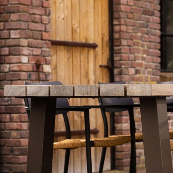 houten tuintafel padoek