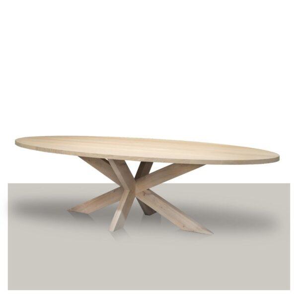 ovale-eettafel-naturel-met-matrix-onderstel-in-dezelfde-kleur