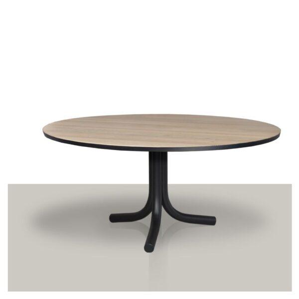 ronde-eettafel-eikenhout-met-zwarte-rand-middenpoot-4-metalen-buizen